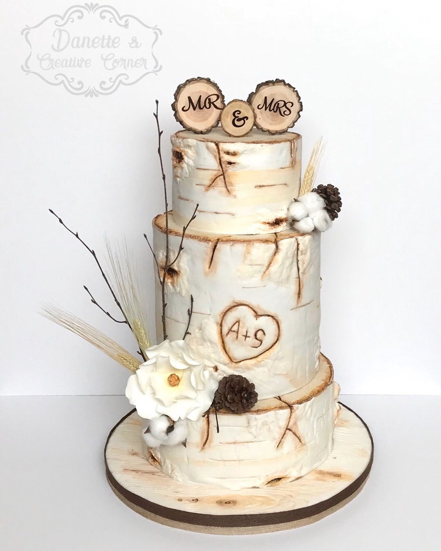 Top Birch Tree Cakes - CakeCentral.com