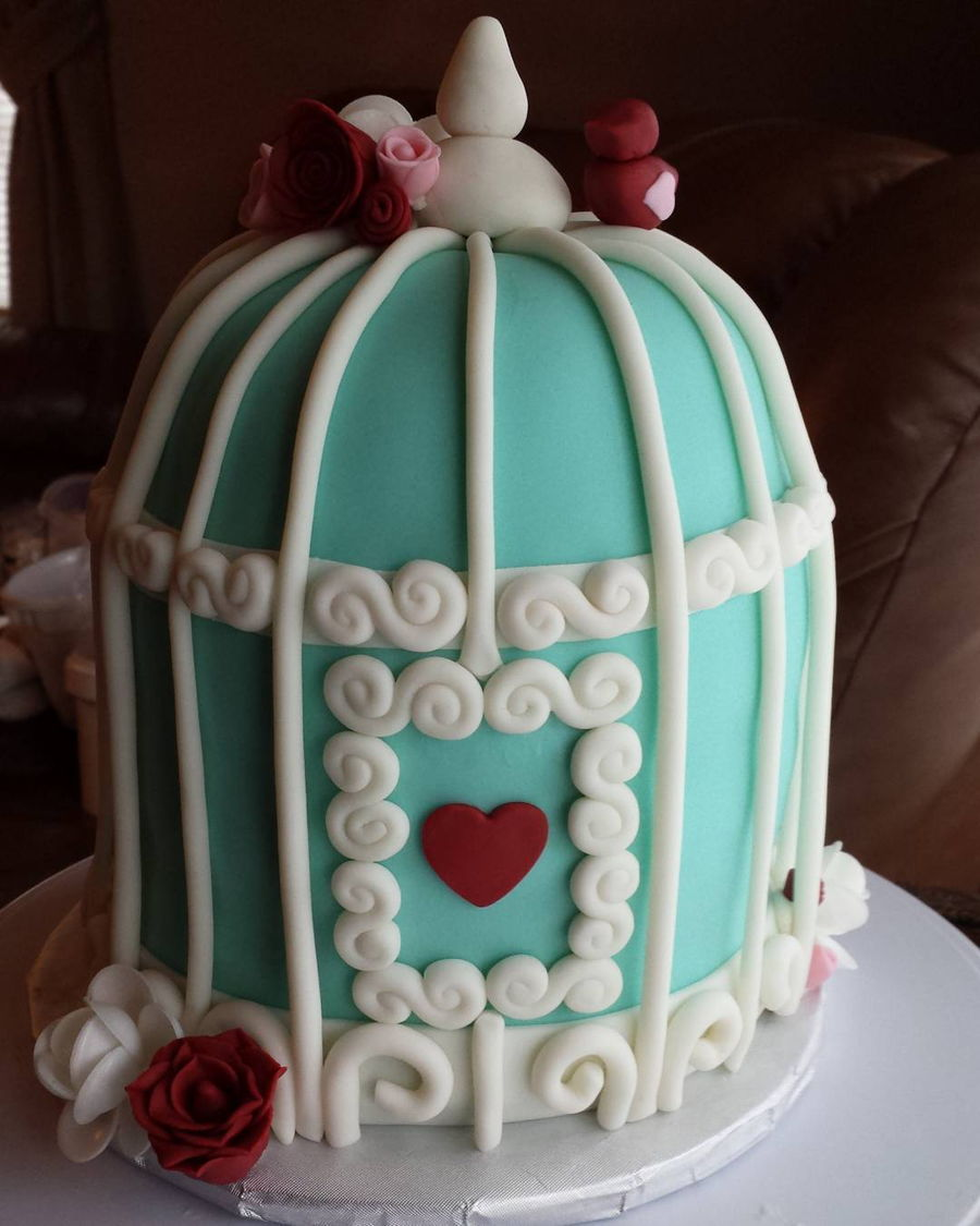 Birdcage on Cake Central