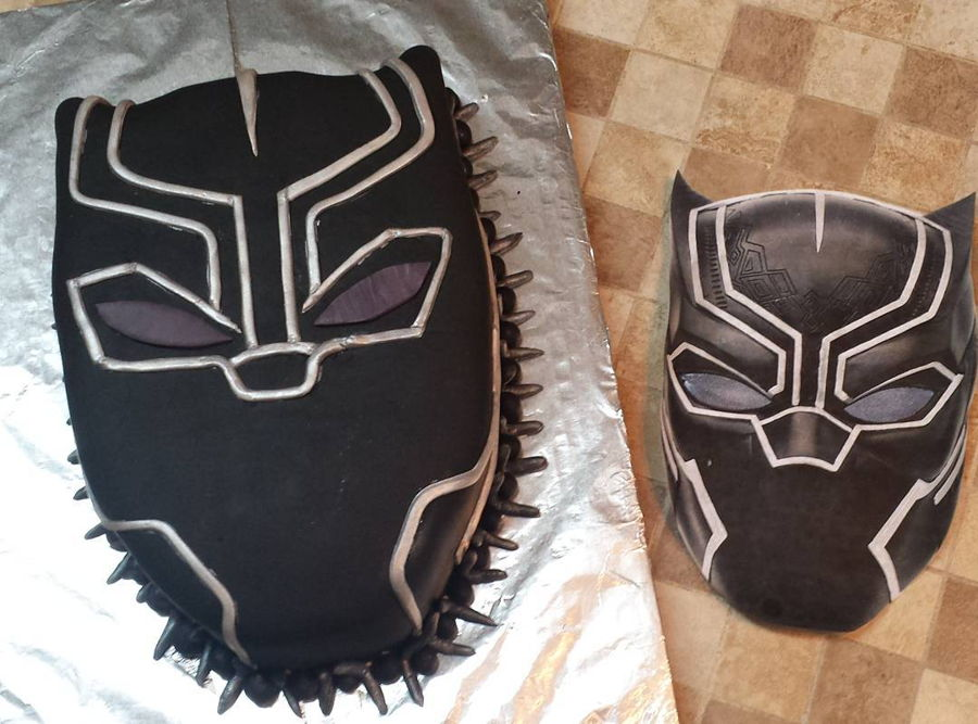 Black Panther on Cake Central