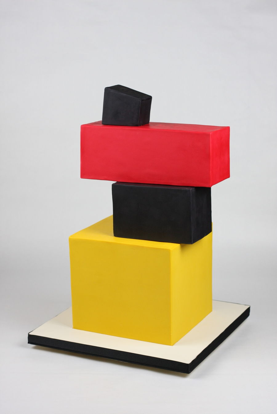 Cake Based On One Of The Avant-Garde Painting By Kazimir Malevich on Cake Central