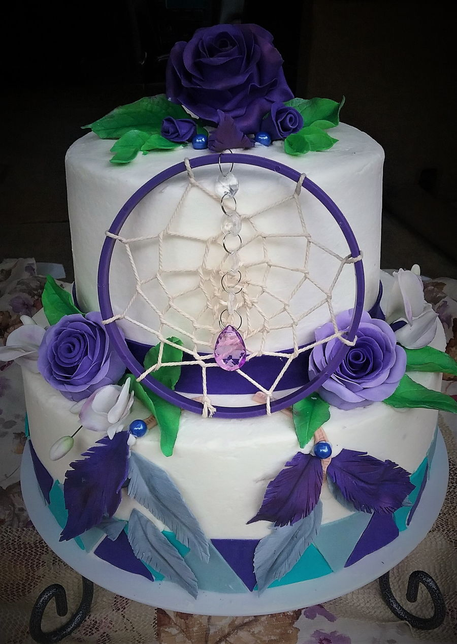Dream Catcher Cake on Cake Central