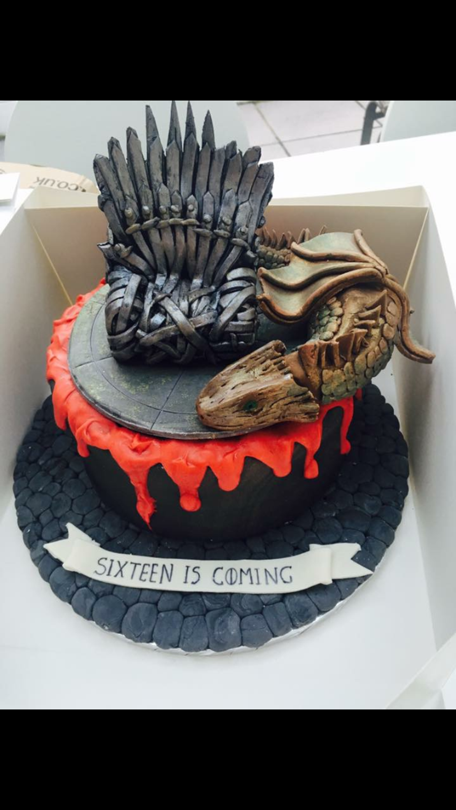 Game Of Thrones on Cake Central