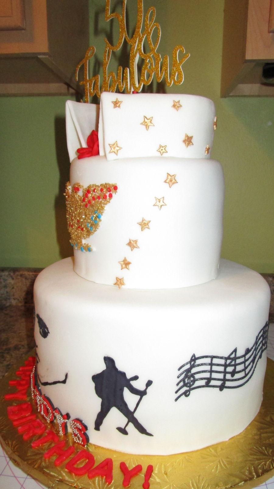 Elvis Birthday Cake Recipe