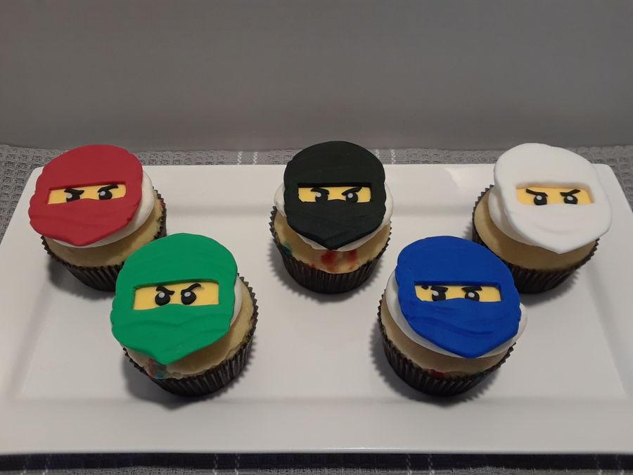 Lego Ninjago Birthday Cupcakes - CakeCentral com