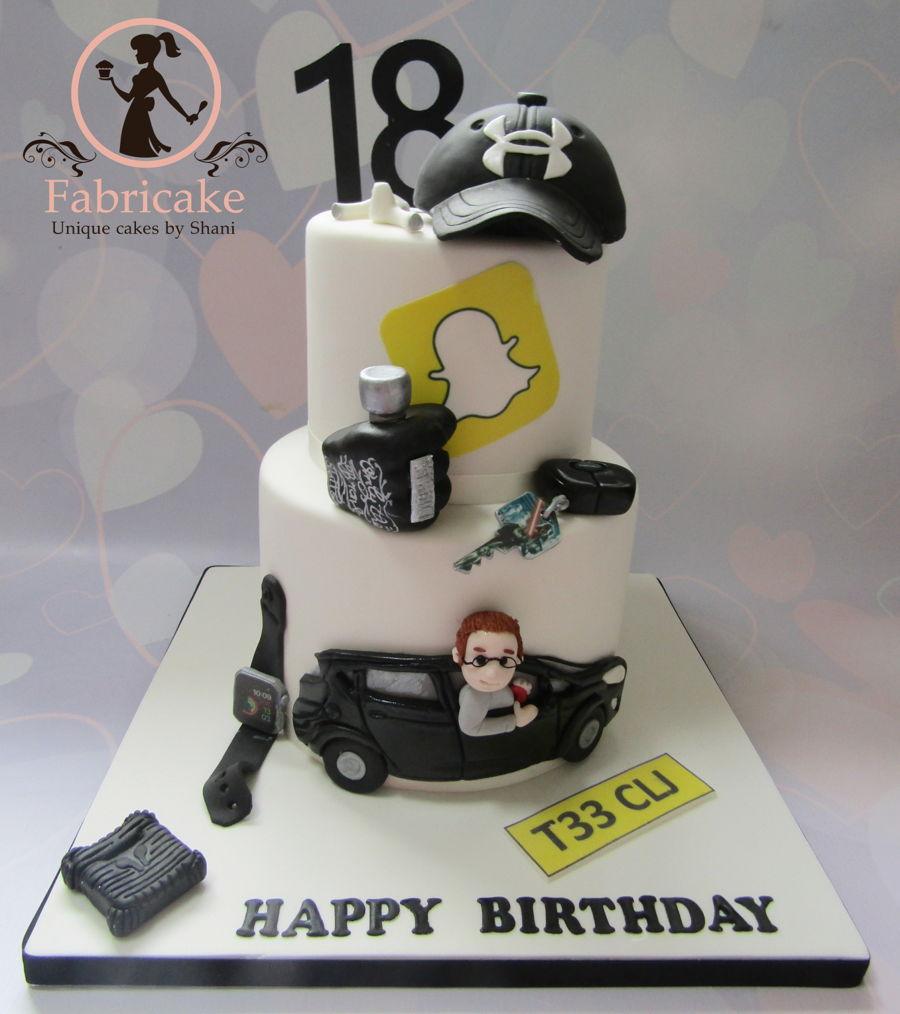Peachy Mans Birthday Cake Cakecentral Com Funny Birthday Cards Online Elaedamsfinfo