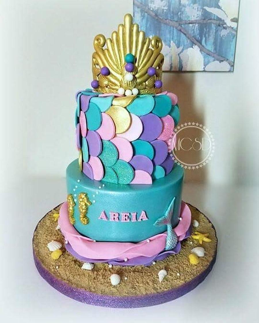 Mermaid Baby Shower Cake On Cake Central