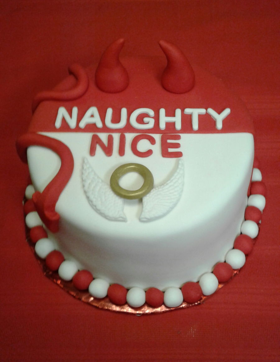 Naughty Or Nice Cakecentral