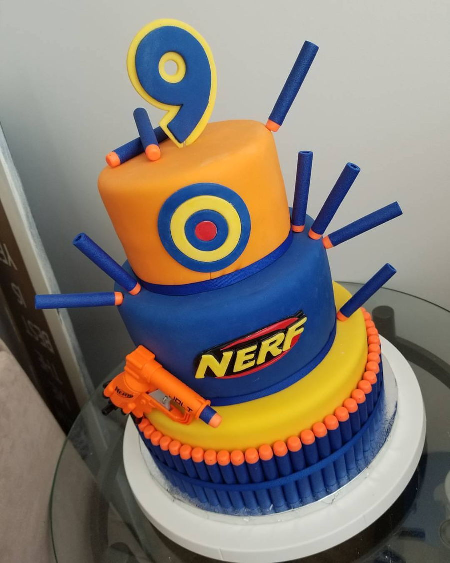 Nerf Birthday Cake Recipe