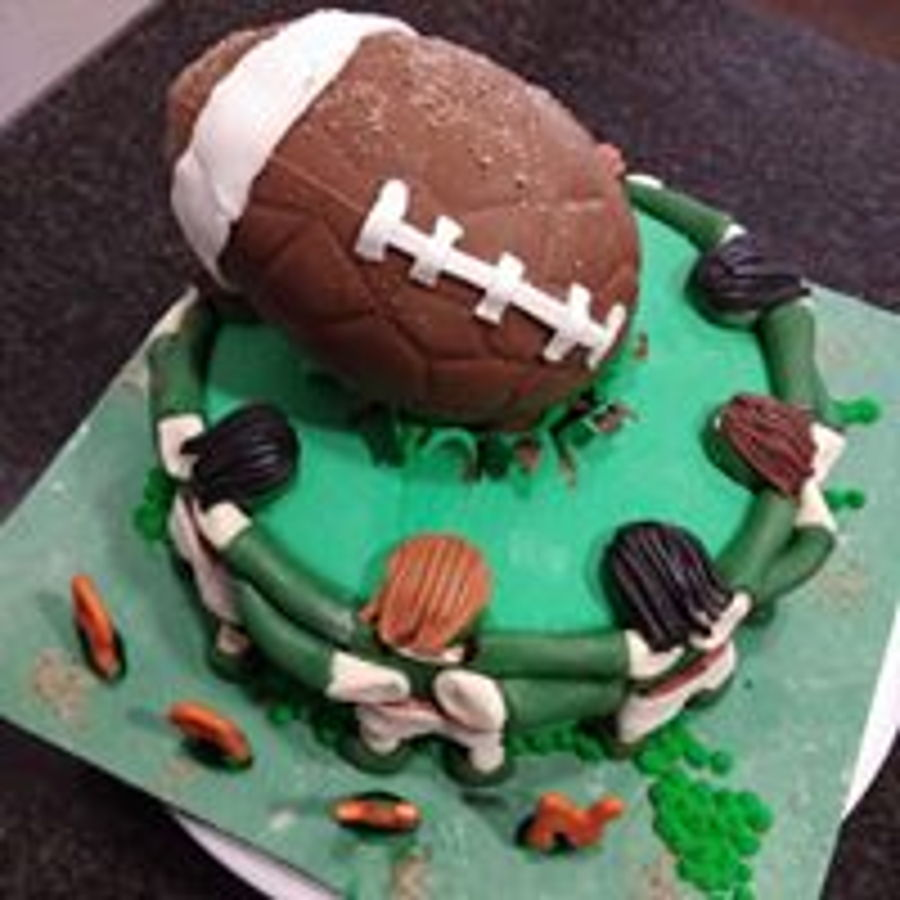 Rugby Lovers on Cake Central