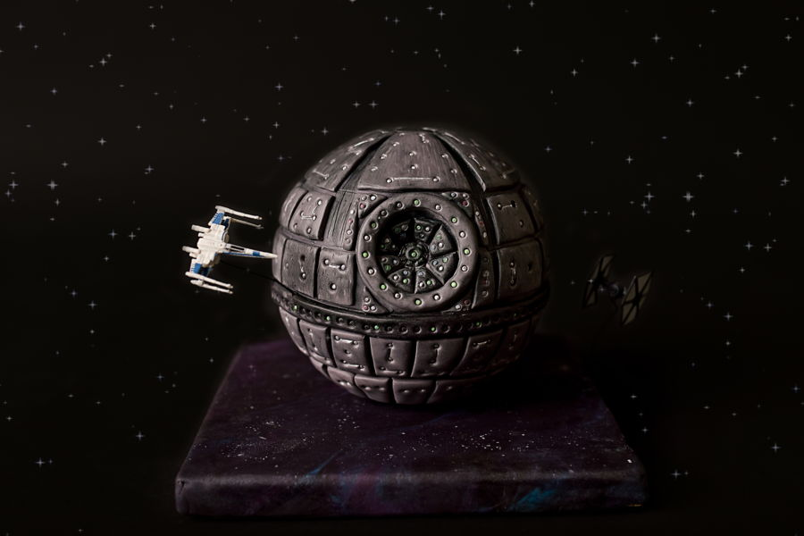 Star Wars Death Star on Cake Central