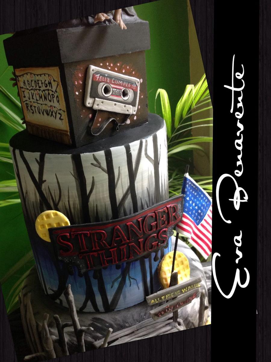 Stranger Things Cake Cakecentral Com