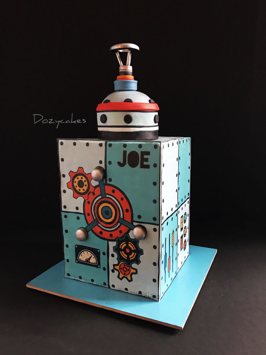 Tinker Toy on Cake Central