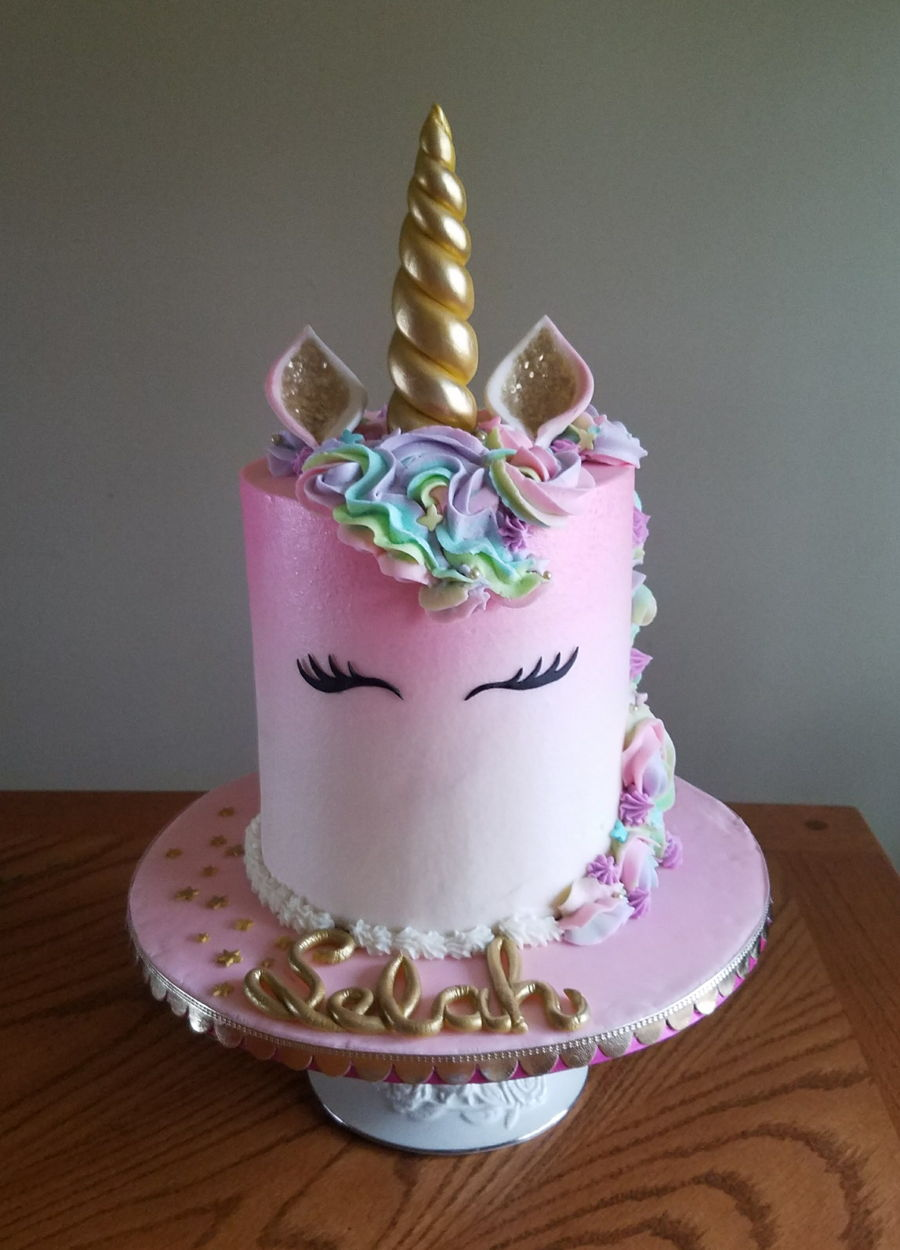 Unicorn Cake  Layers
