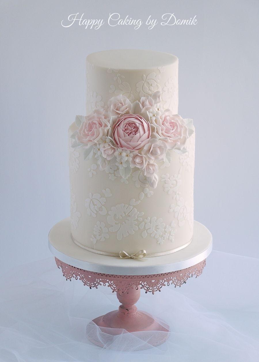 Vintage Wedding Cake Cakecentral Com