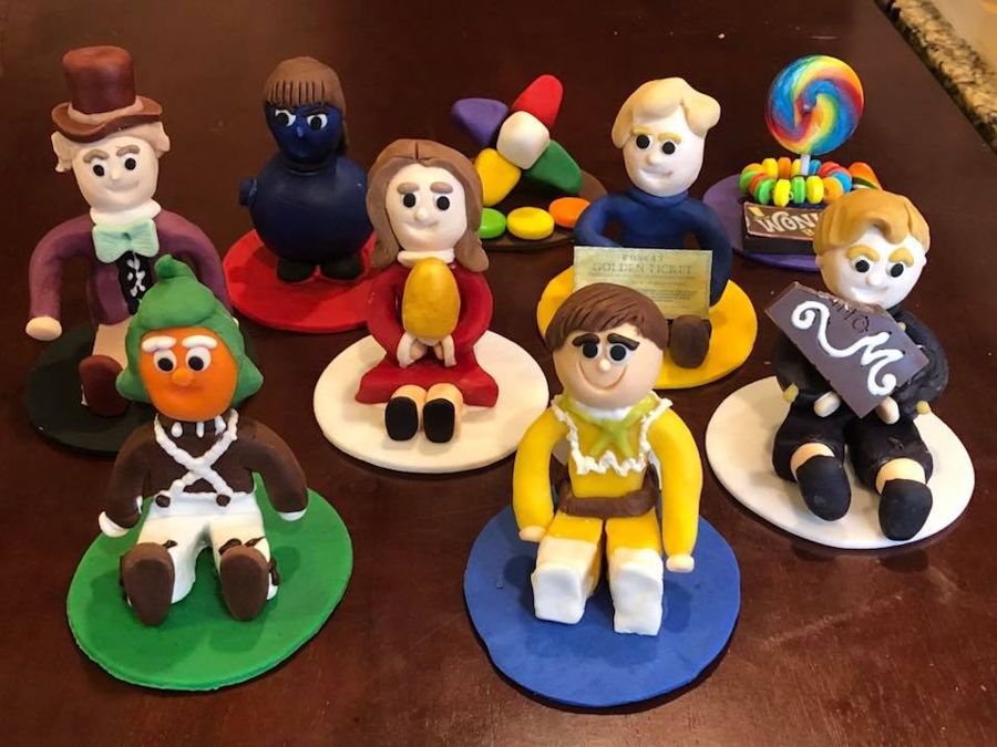 Willy Wonka Cupcake Toppers on Cake Central
