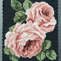 Rose Garden This is a cookie made with royal icing. I fell in love with the needlepoint pattern that I found online. I don't know where the...