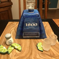 1800 Tequila This cake was full of firsts for me