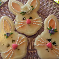 Bunny Sugar Cookies I made these a couple of times. Once for Easter and once as an entry for the fair. I took a best of show ribbon at the fair.