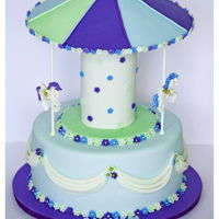 Carnival Cake. Carnival cake for welcoming a baby.