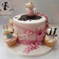 Peppa Pig And Friends Cake Peppa pig and friends cake