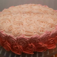 Roses Cake Buttercream icing