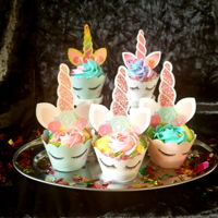 Unicorn Cupcakes Magically cute