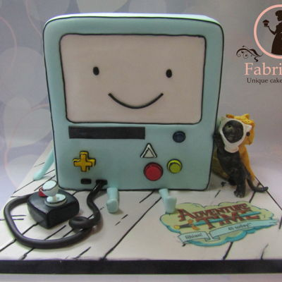 Bmo Adventure Time Cake