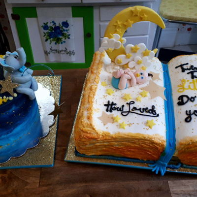 Twinkle Twinkle Little Star Baby Shower Cakes