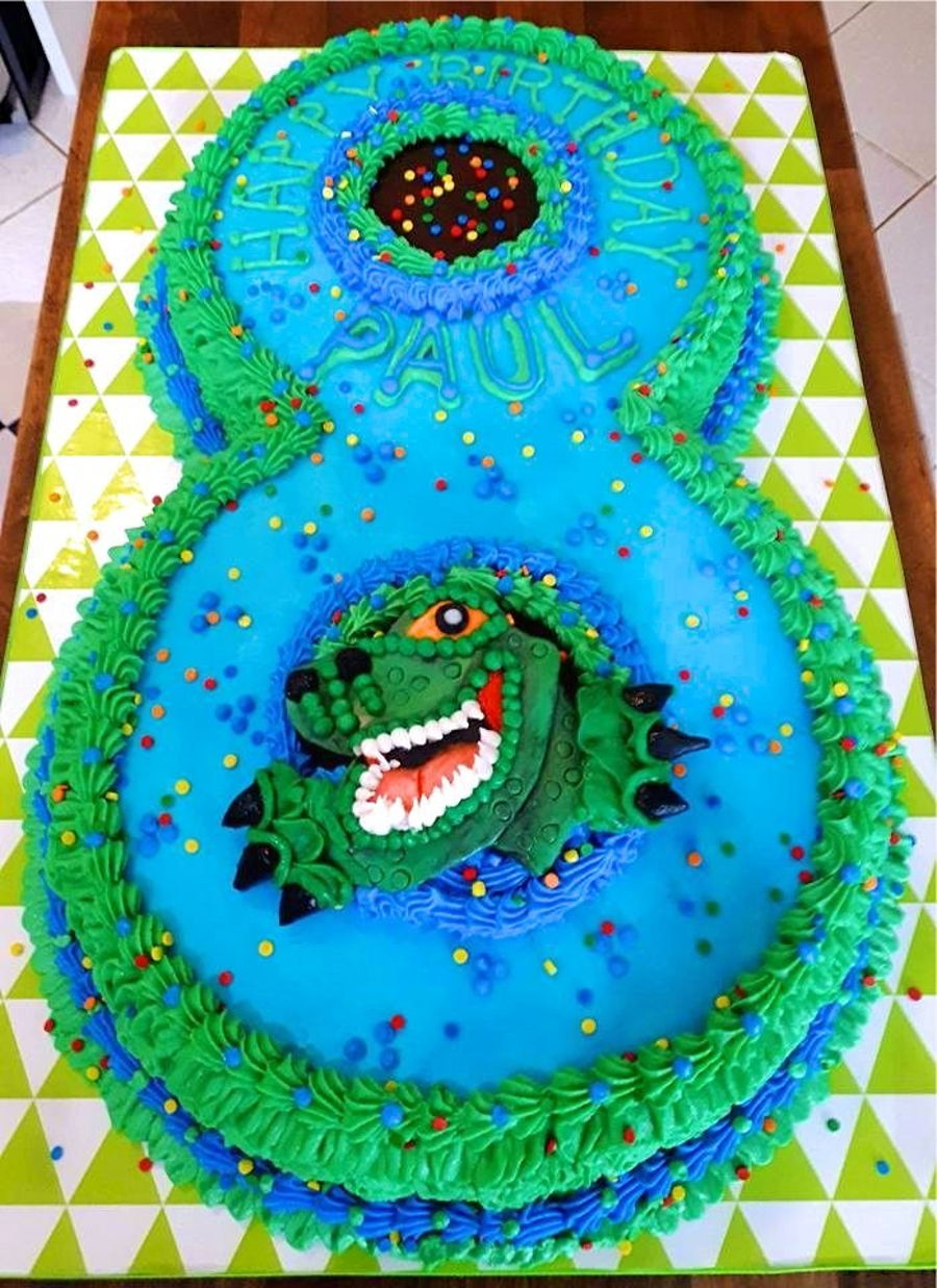 Terrific 8 Year Birthday Cake Cakecentral Com Funny Birthday Cards Online Eattedamsfinfo