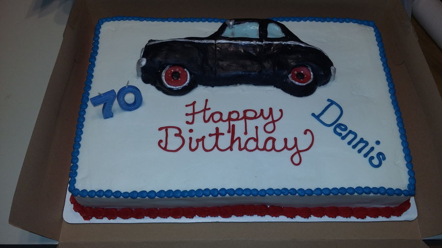 Antique Car Cake on Cake Central