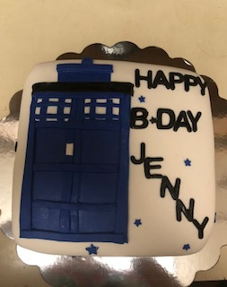 Dr.who on Cake Central