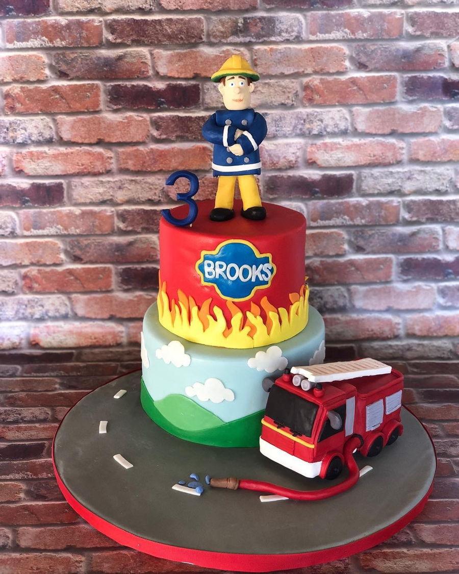 Fireman Sam Birthday Cake Cakecentral