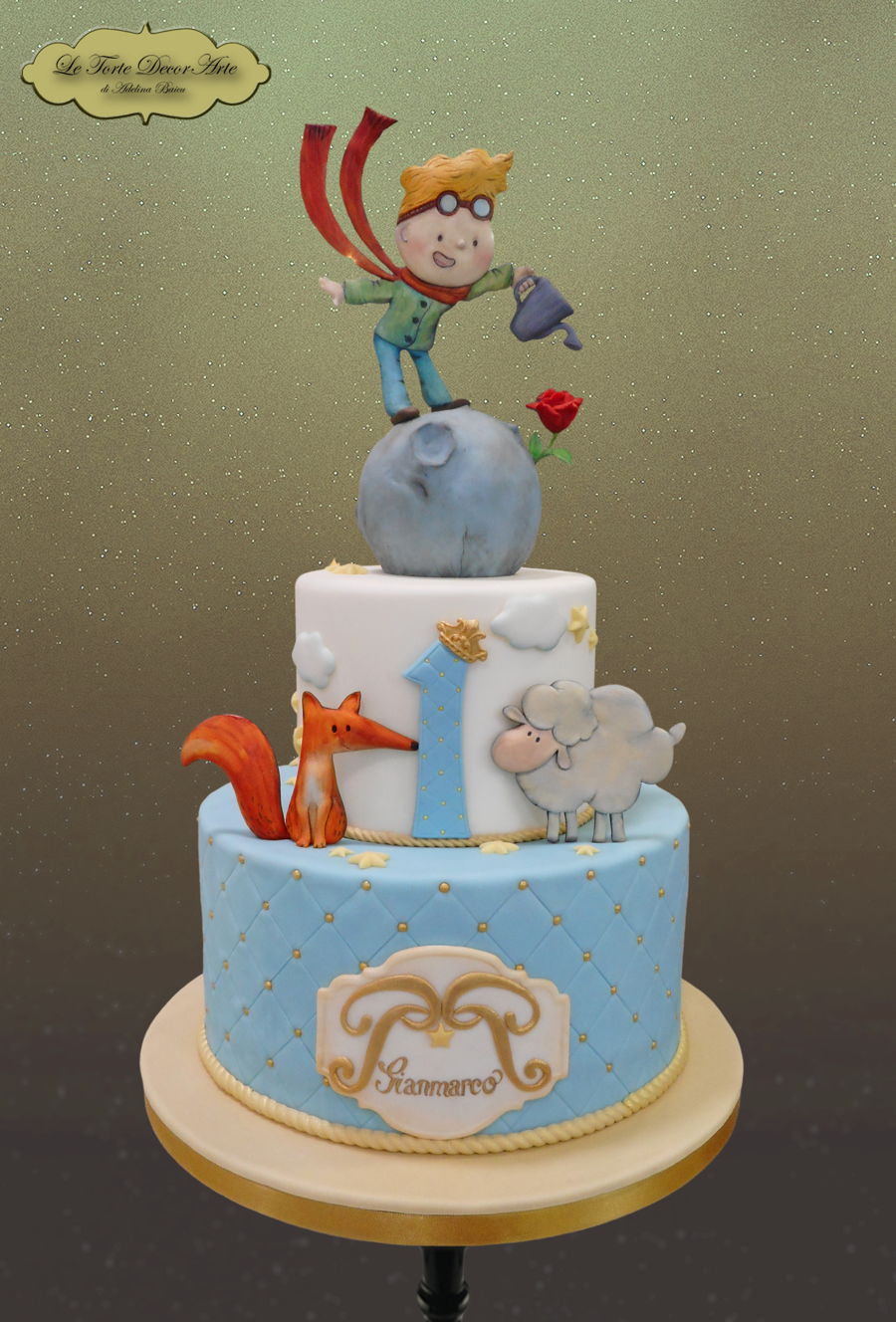 Little Prince Cake on Cake Central