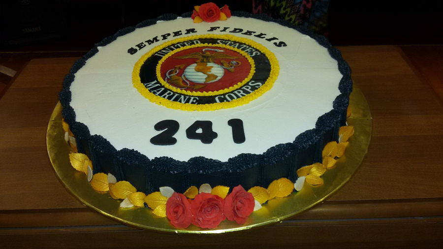Marine Corps Ball on Cake Central