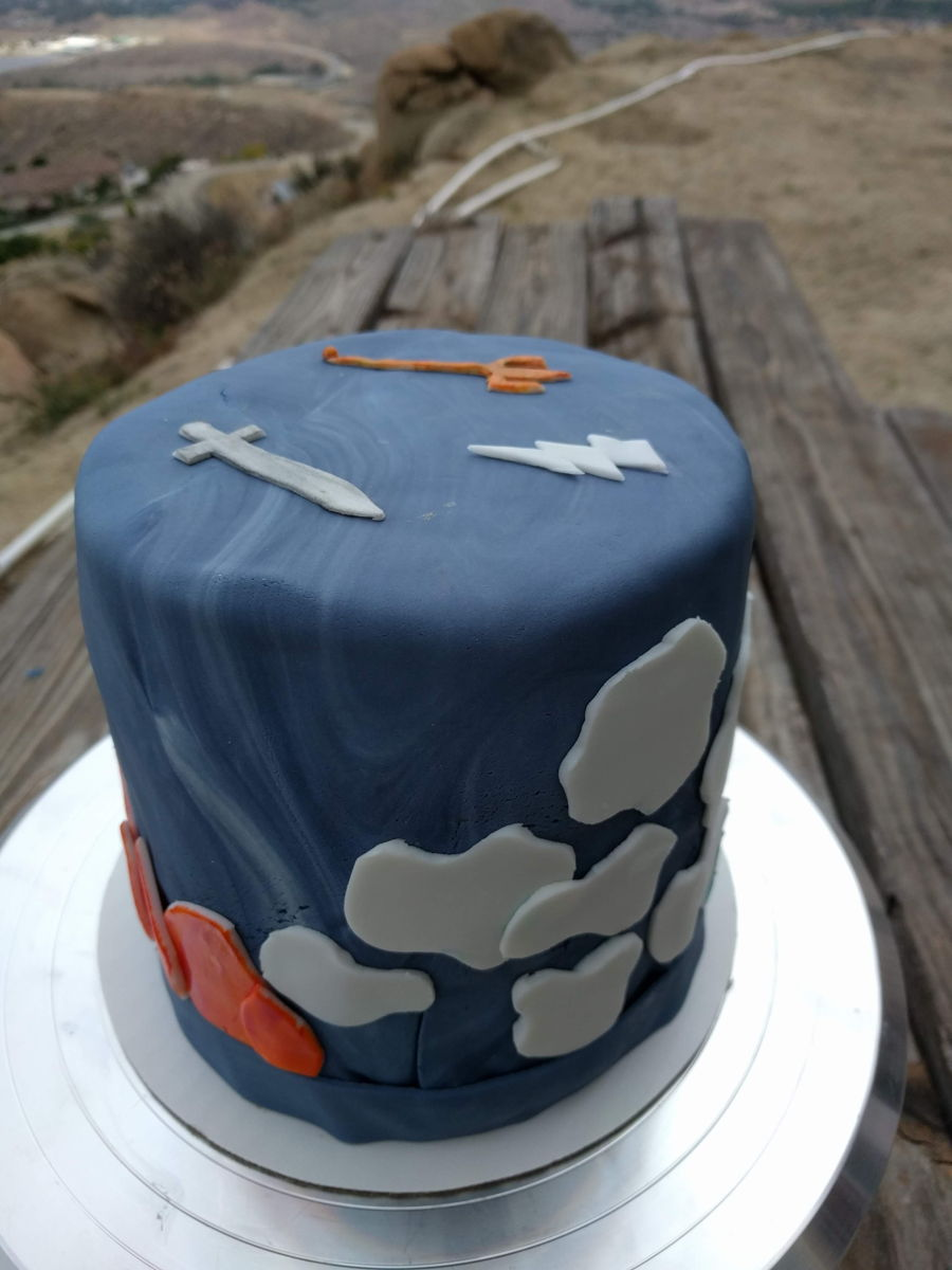 Percy Jackson Inspired Birthday Cake Cakecentral