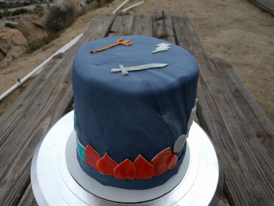Percy Jackson Inspired Birthday Cake Cakecentral Com