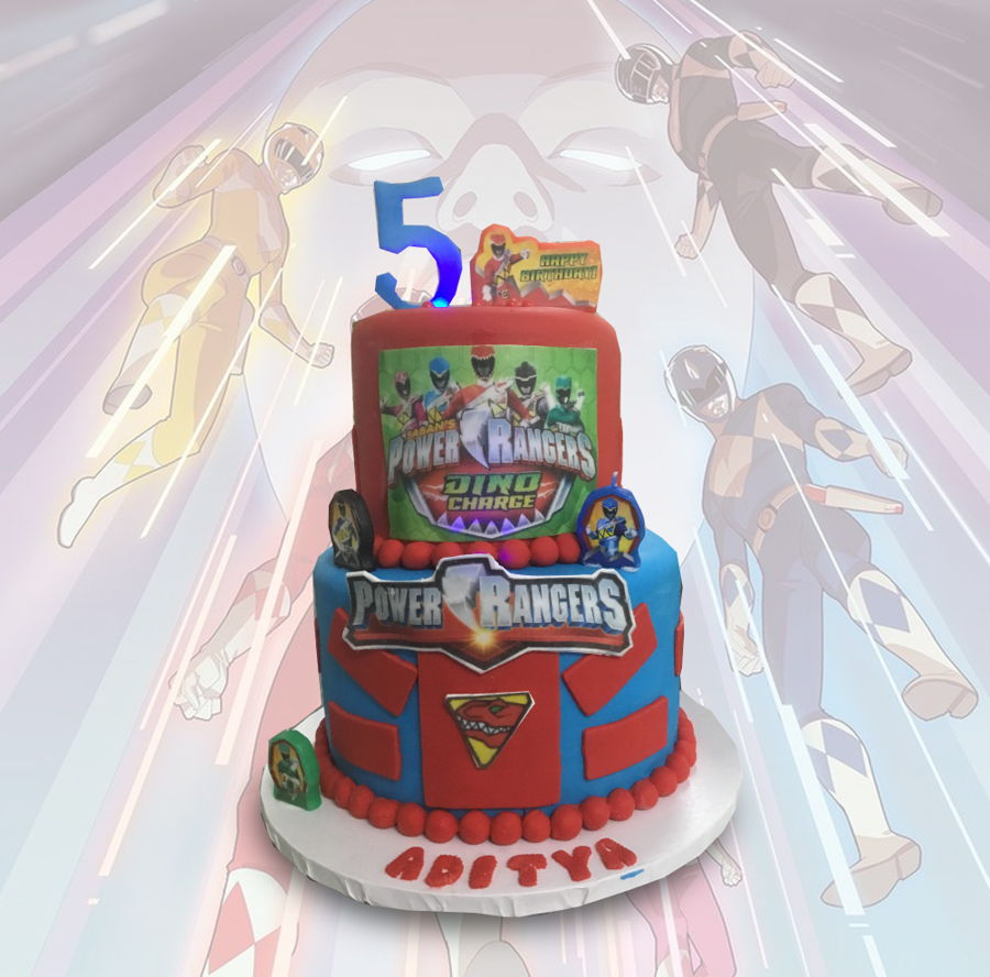 Power Rangers on Cake Central