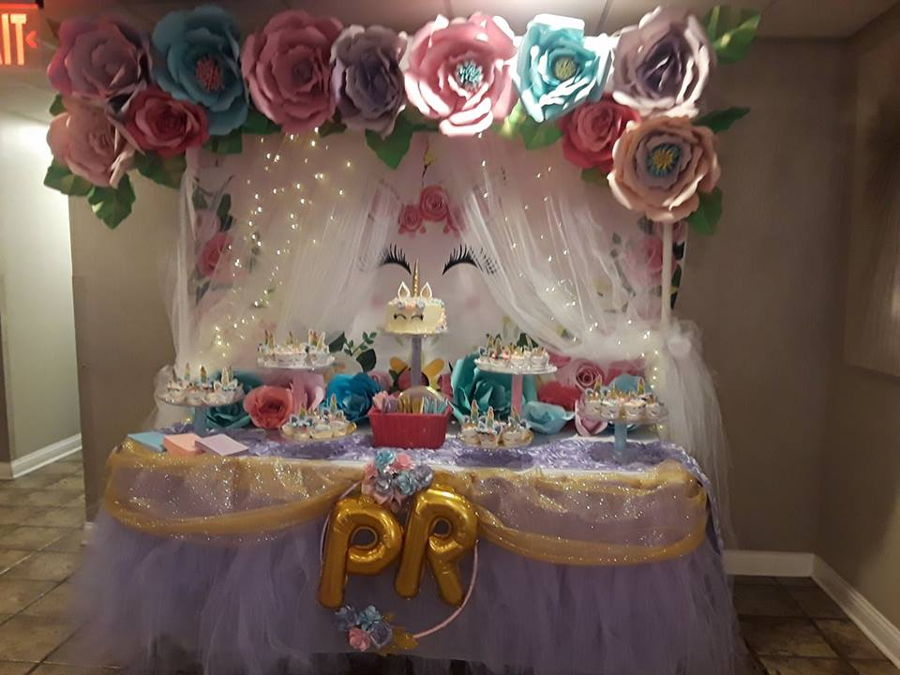 Unicorn Baby Shower - Parker Rose on Cake Central