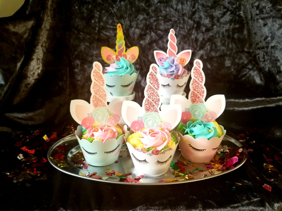 Unicorn Cupcakes on Cake Central
