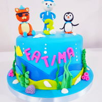 Birthday Cake Octonauts cake
