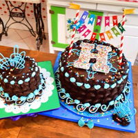 Chocolate Birthday Cake With Cocoa Noir Buttercream Chocolate Birthday Cake with Cocoa Noir Buttercream
