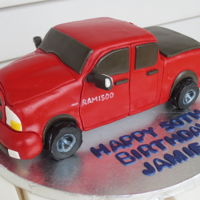 Dodge Ram Truck I made this for my husband's 50th birthday. It's his truck, of course! He asked for strawberry shortcake, so I made a gluten-free...