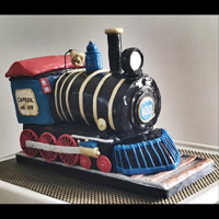 Train Cake My first sculpted cake! Ok, it didn't turn out exactly as planned but people loved it. Created for my home town's 100th...