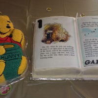 Winnie The Pooh & Book This was for my grandson's 1st birthday