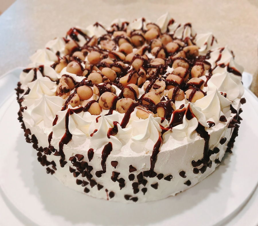 Made This For A Friends Birthday First Time Making An Ice Cream Cake