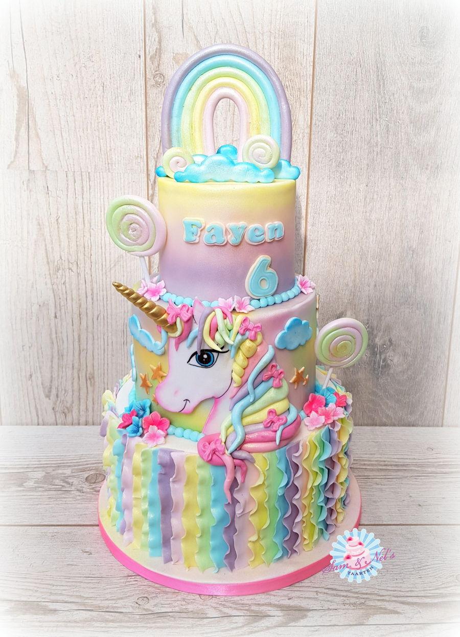 Pastel Unicorn Cake Cakecentral Com