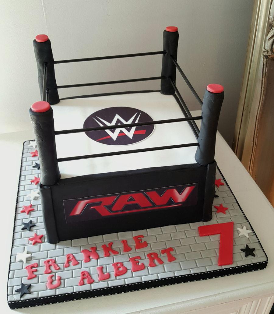 Wwe Birthday Cake - CakeCentral.com