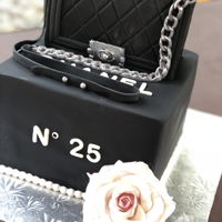 Boy Chanel Boy Chanel Bag birthday cake