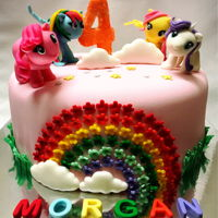 My Little Pony Cake Fondant