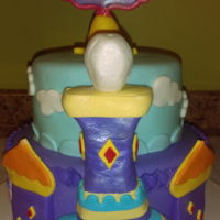 Shimmer And Shine Palace I made this cake to go with the dolls and magic carpet set for my friend's granddaughter.